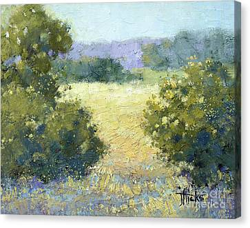 Summertime Landscape Canvas Print