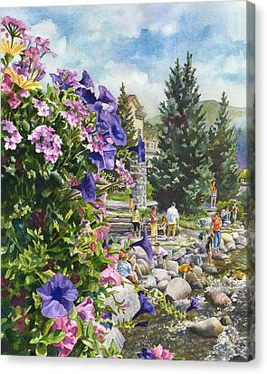 Summertime Saturday Canvas Print