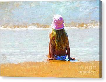 Summertime Canvas Print by Avalon Fine Art Photography