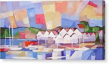 Summerview Panoramic Canvas Print by Lutz Baar