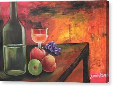 Summerwine Canvas Print by Gani Banacia
