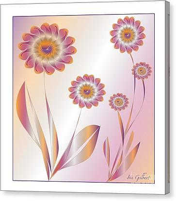 Summerwork Duvet Cover And Pillow Canvas Print