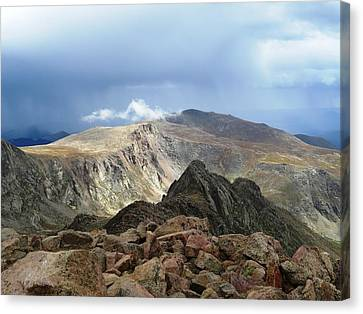 Summit Thunderstorm Canvas Print