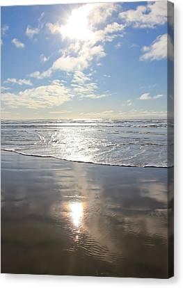 Sun And Sand Canvas Print