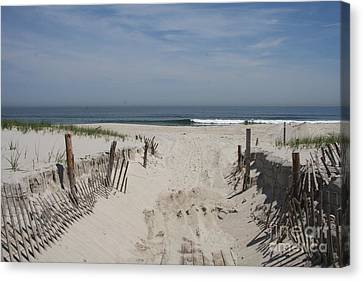 Sun And Sand Canvas Print by Christiane Schulze Art And Photography