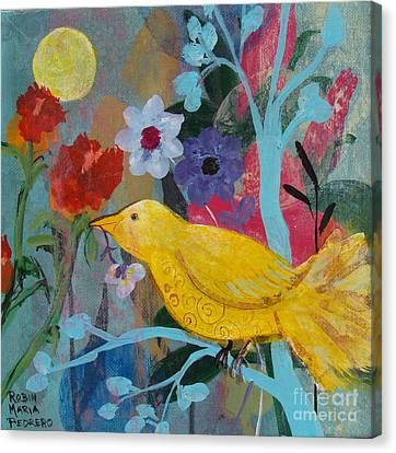 Sun Bearer Canvas Print by Robin Maria Pedrero