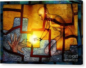 Sun Catcher Canvas Print by Rosa Cobos