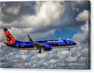 Sun Country Boeing 737 Ng Canvas Print