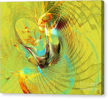 Sun Dancer Canvas Print by Jeanne Liander