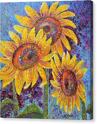 Sun-kissed Beauties Canvas Print