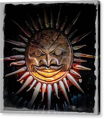 Sun Mask Canvas Print