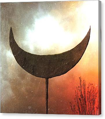 Sun Moon Stars  Canvas Print by Mark M  Mellon