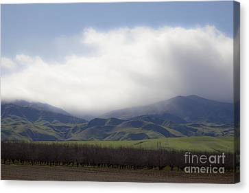 Sun On The South Tehachipis Canvas Print