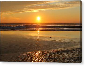 Sun Ripples Canvas Print