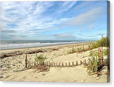 Sun Sand Sea Canvas Print