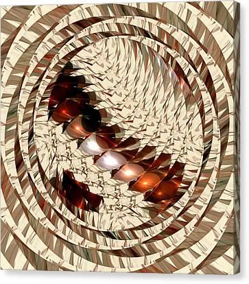 Sun Sand Shadows Canvas Print by Anastasiya Malakhova