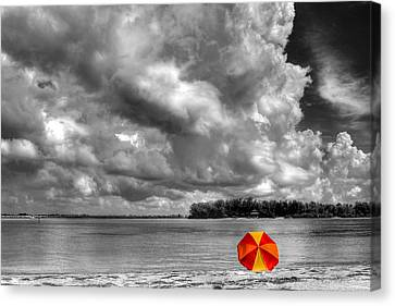 Sun Shade Canvas Print by HH Photography of Florida