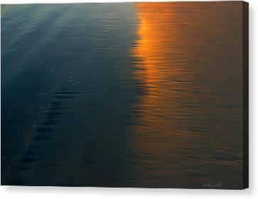 Sun Soaked Beach Canvas Print by Heidi Smith