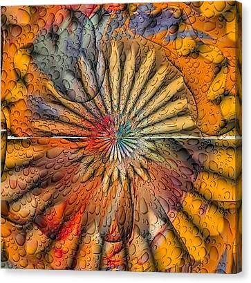 Sun Spin By Nico Bielow Canvas Print by Nico Bielow