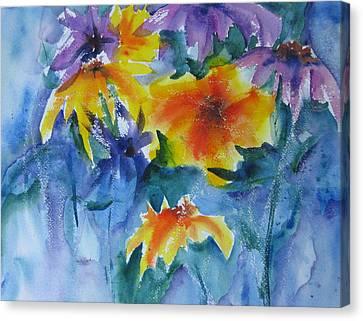 Sun Splashes Canvas Print