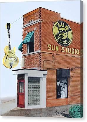 Sun Studio Canvas Print