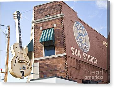 Sun Studio Memphis Canvas Print