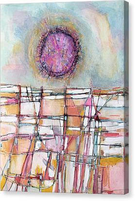 Sun And City Canvas Print by Hari Thomas