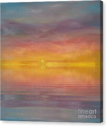 Sun Tapestry Canvas Print by Holly Martinson