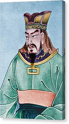 Half-length Canvas Print - Sun Tzu by Chinese School