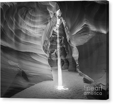 Sunbeam In Upper Antelope Canyon Arizona Canvas Print