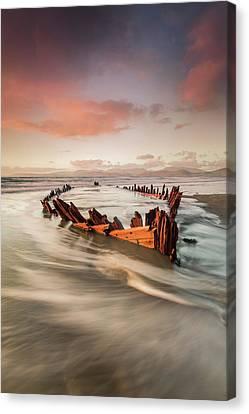 Empty Canvas Print - Sunbeam by Marek Biegalski