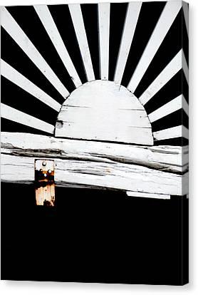 Sunbeam Wood Canvas Print by Isabelle Mbore