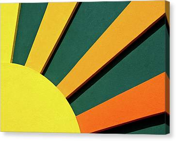 Sunbeams Canvas Print by Christi Kraft