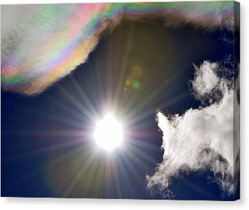 Sunbeams Canvas Print by Heather L Wright