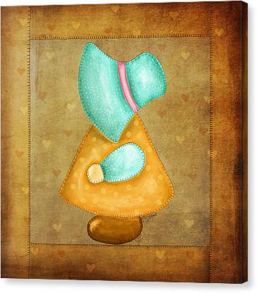 Sunbonnet Sue Canvas Print
