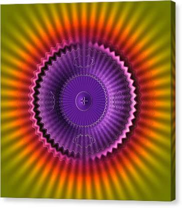 Sunburst Glow Canvas Print by Visual Artist  Frank Bonilla