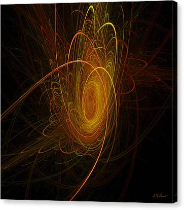 Alien Planet Canvas Print - Sunburst by Michael Durst