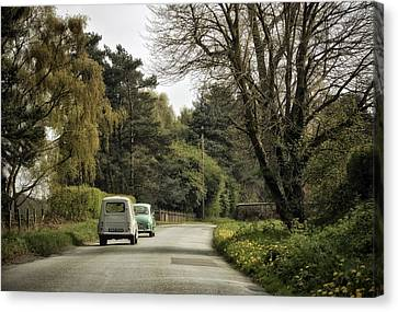 Sunday Afternoon Drivers Canvas Print by Jason Green