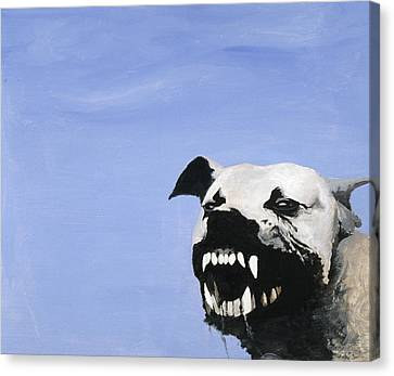Growling Canvas Print - Sunday Afternoon by Garvin Yee