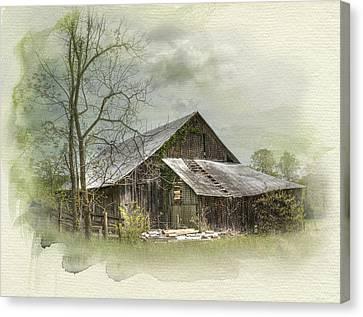 Sunday Drive Barn Canvas Print