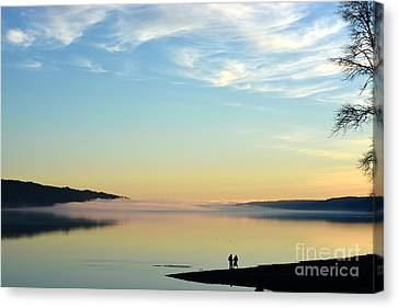 Sunday Evening Solitude Canvas Print