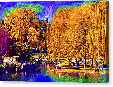 Sunday In The Park Canvas Print by Kirt Tisdale