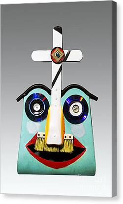 Sunday Mask Canvas Print