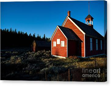 Sunday Morning Coming Down Canvas Print by Jim Garrison