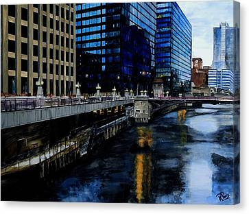 Sunday Morning In January- Chicago Canvas Print