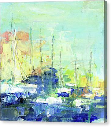 Sunday On The Water Canvas Print