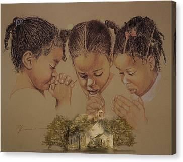 Sunday Prayers Canvas Print