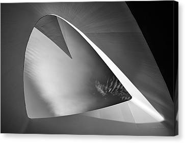 Sundial Bridge Bw 1 Canvas Print