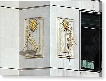 Sundials Canvas Print by Martin Bond