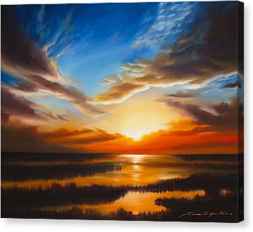 Sundown Canvas Print by James Christopher Hill